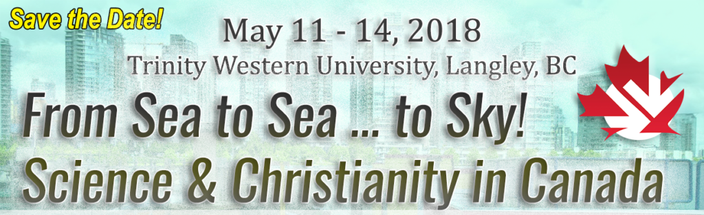 From Sea to Sea ... to Sky! Science and Christianity in Canada